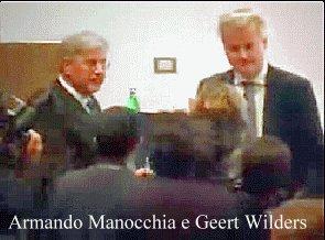 Armando Manocchia e Geert Wilders