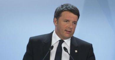 """Renzi: """"Il referendum non riduce gli spazi di democrazia"""""""